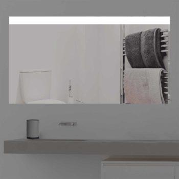 Badspiegel LED beleuchtet auf ganzer Linie