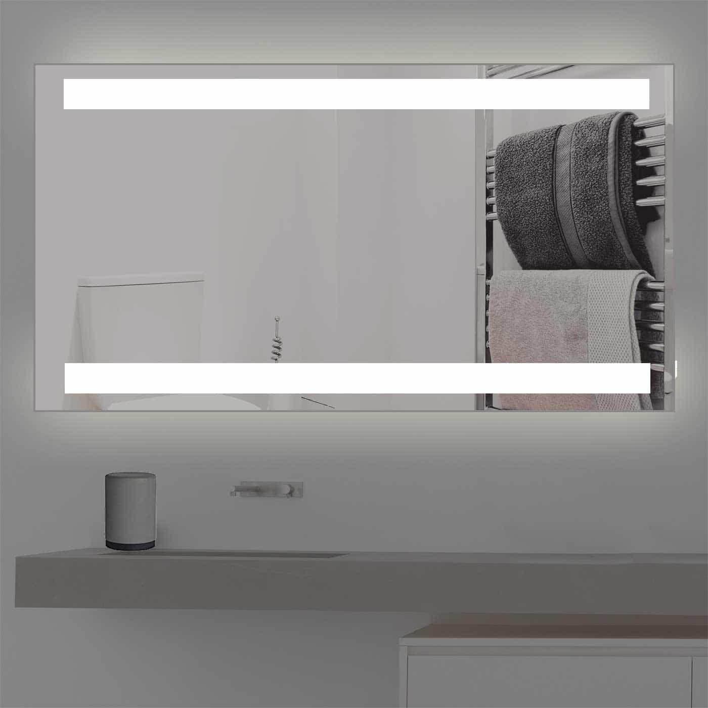 wandspiegel mit led beleuchtung k 201 kostenloser versand. Black Bedroom Furniture Sets. Home Design Ideas