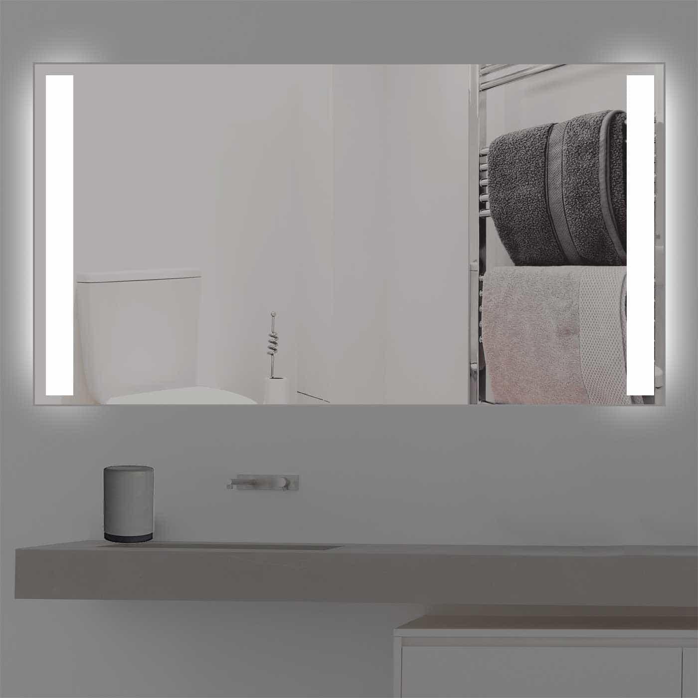 Standardmass badspiegel mit beleuchtung s 202 for Spiegel 160x80