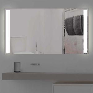 Standardmass Badspiegel mit Beleuchtung S 202