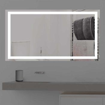 Badspiegel mit Led Licht Beleuchtung K 203