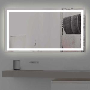 badspiegel mit beleuchtung auf mass von fachbetrieb. Black Bedroom Furniture Sets. Home Design Ideas
