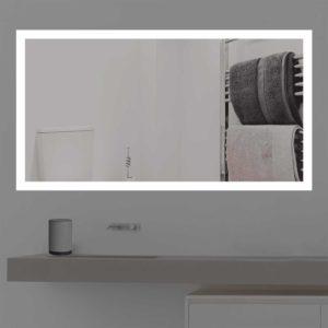 Badspiegel mit Beleuchtung für das Badezimmer K 204