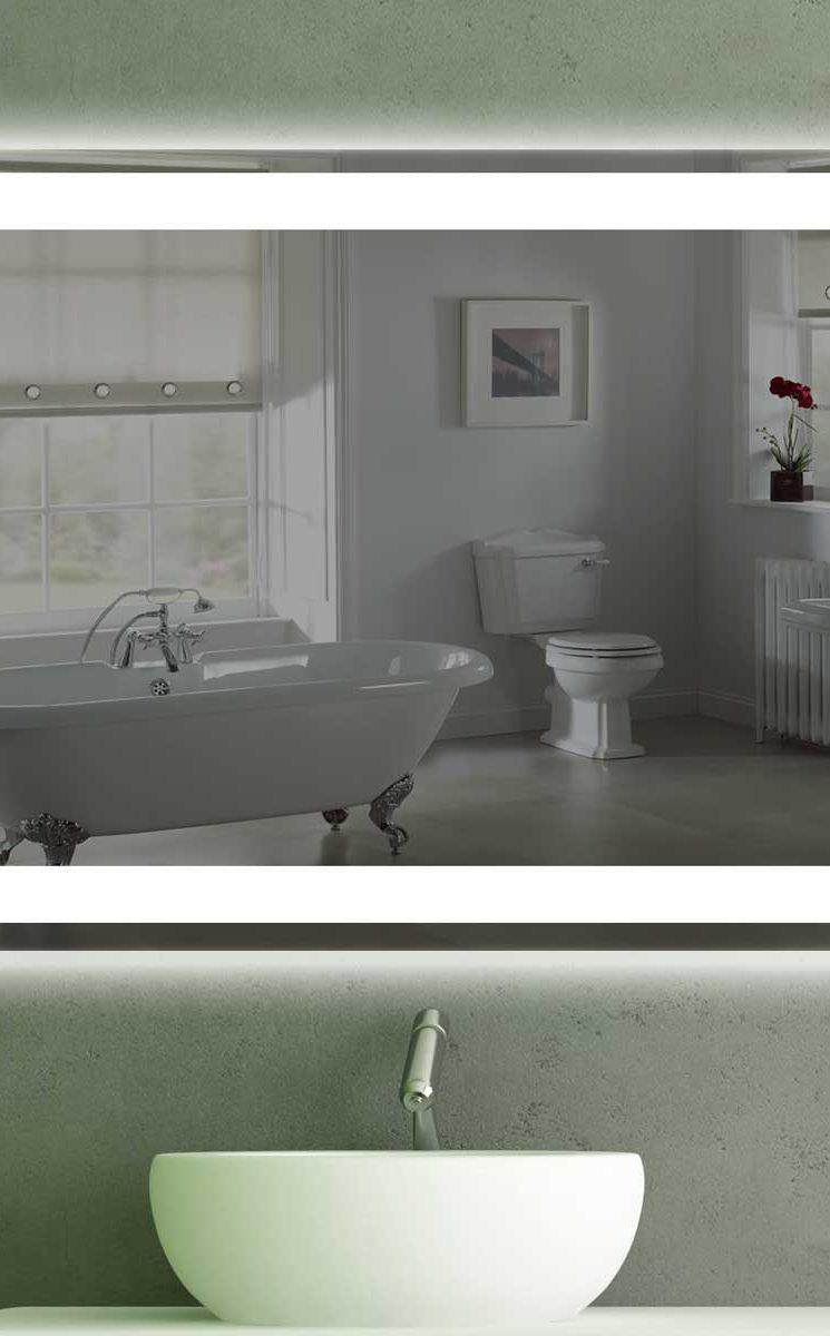 wandspiegel mit led beleuchtung k 201 spiegel t v. Black Bedroom Furniture Sets. Home Design Ideas