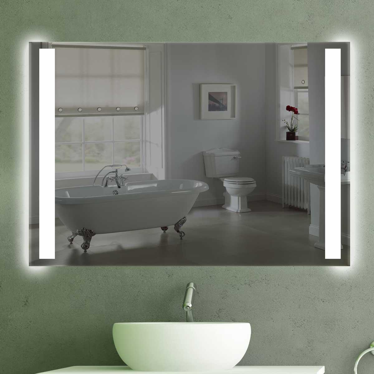 wandspiegel mit beleuchtung k 202 spiegel t v gepr ft. Black Bedroom Furniture Sets. Home Design Ideas