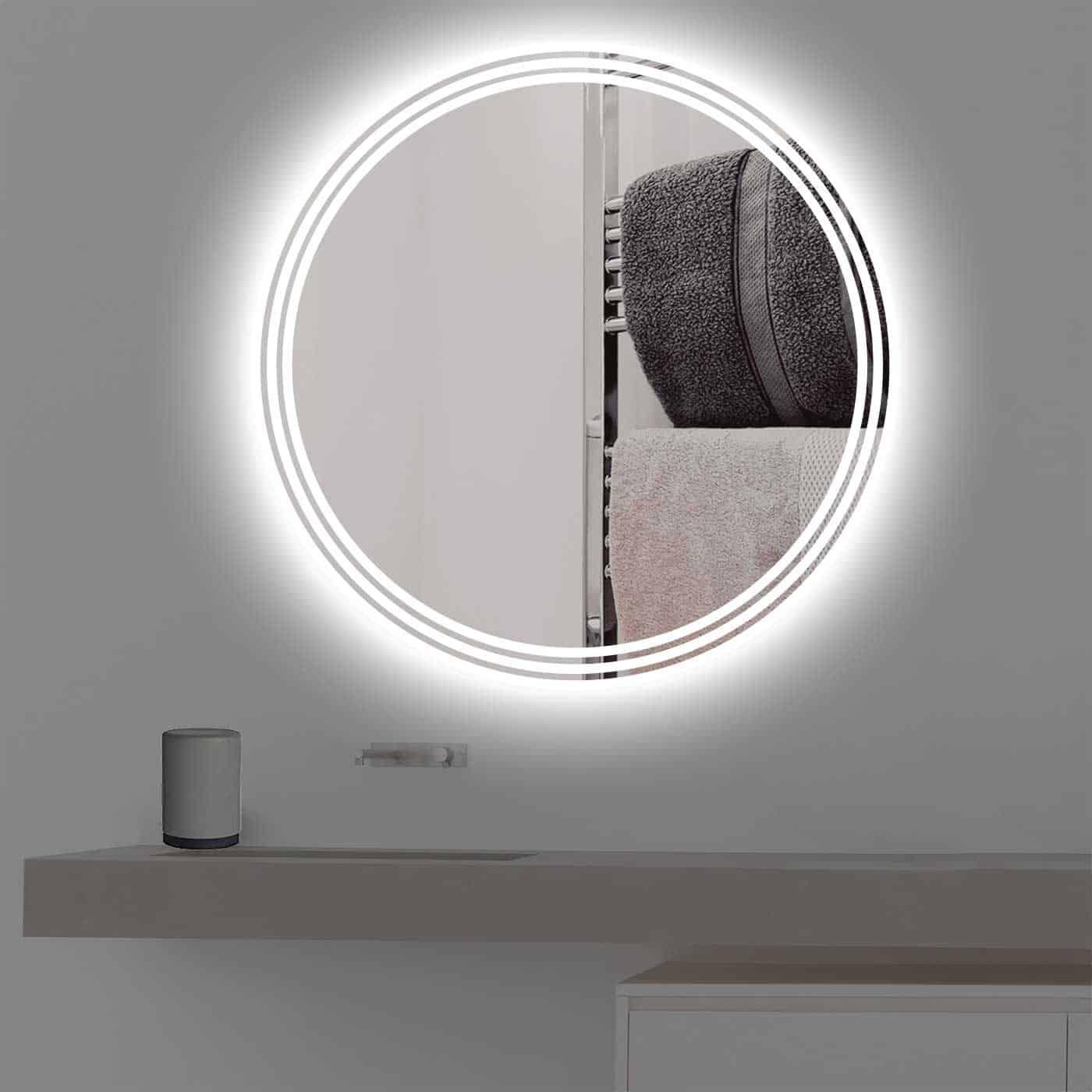 badspiegel beleuchtung good badezimmer aaacaccabad. Black Bedroom Furniture Sets. Home Design Ideas