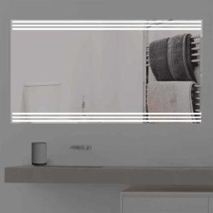 Badspiegel LED beleuchtet   three Line   K 353