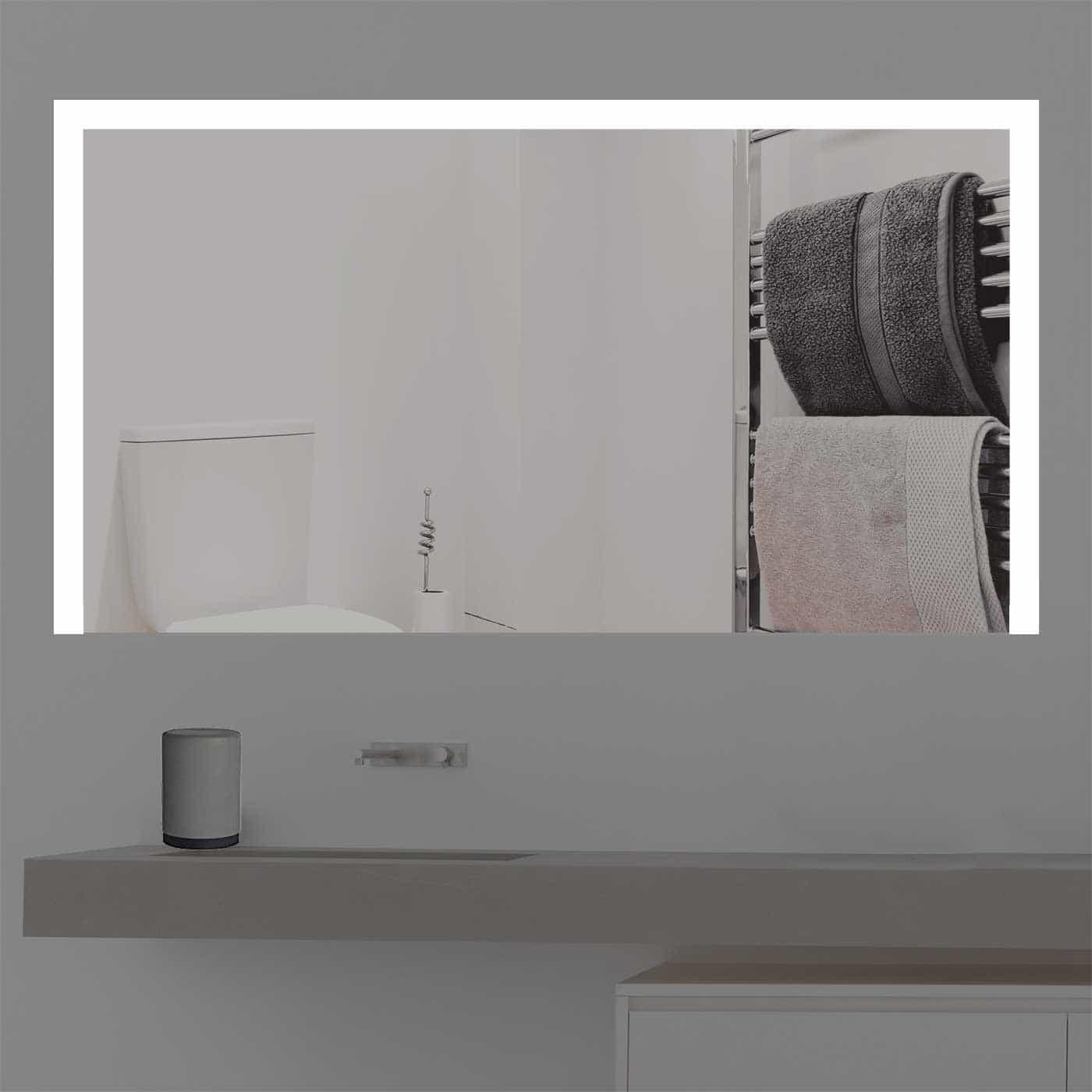 Badspiegel alle MaßeBadspiegel beleuchtet nach Maß