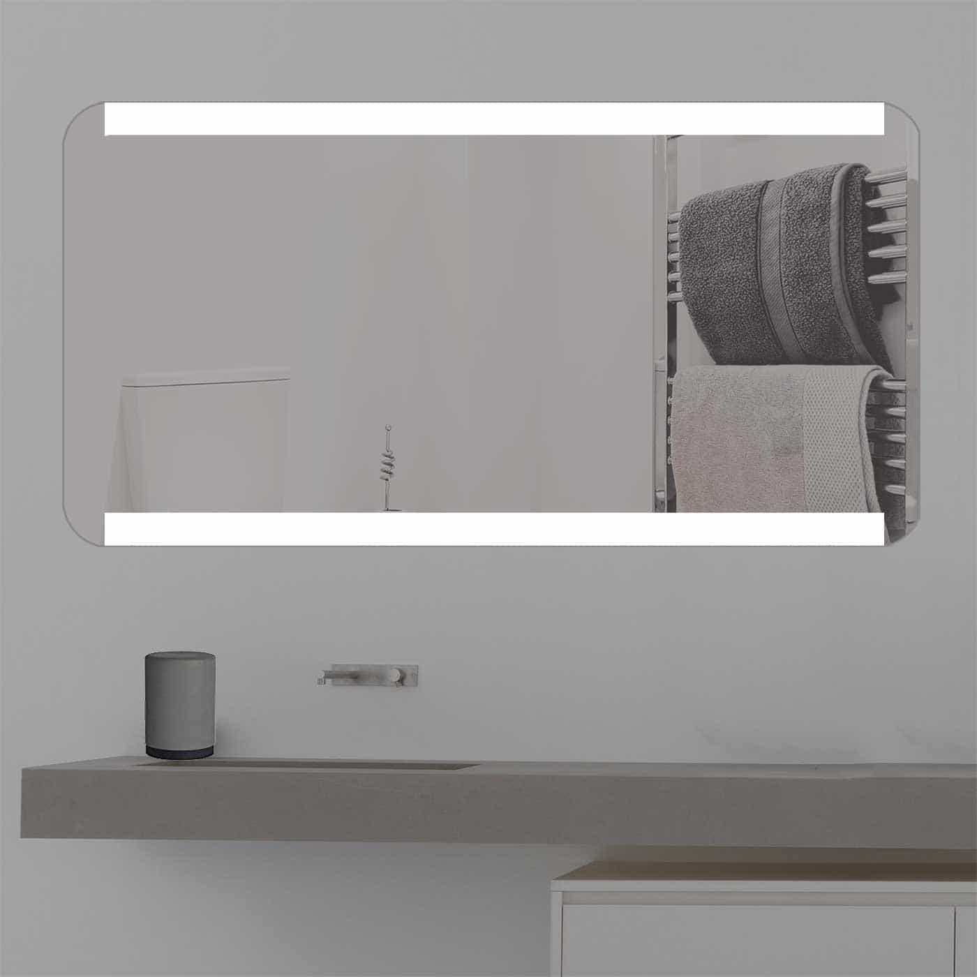 badspiegel mit licht online kaufen k 371. Black Bedroom Furniture Sets. Home Design Ideas