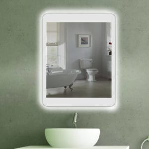Badspiegel LED beleuchtet in Phone Design