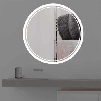 Badspiegel mit Beleuchtung   rund   R 404