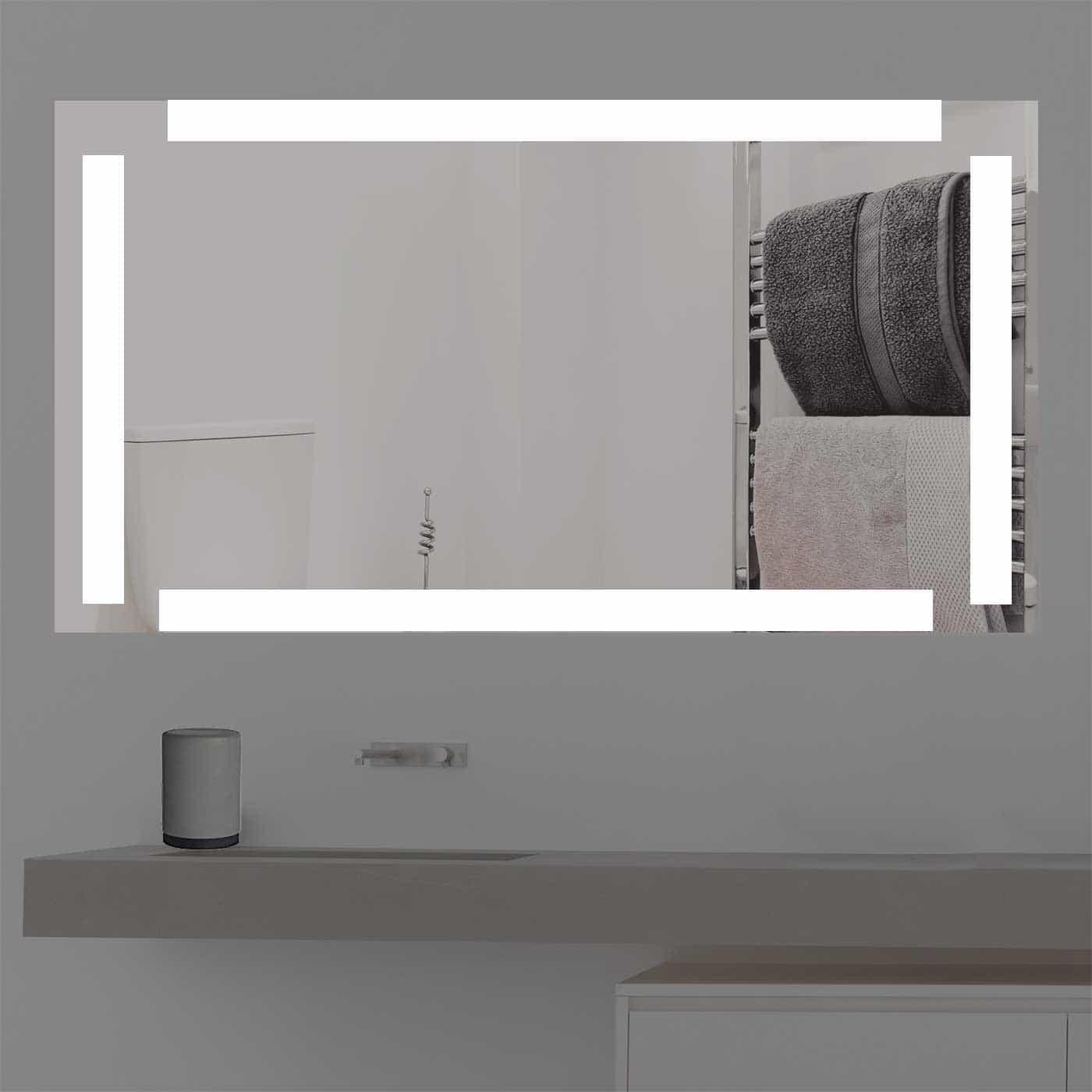 badspiegel beleuchtet online kaufen k1489. Black Bedroom Furniture Sets. Home Design Ideas
