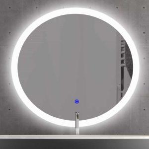 Badspiegel rund