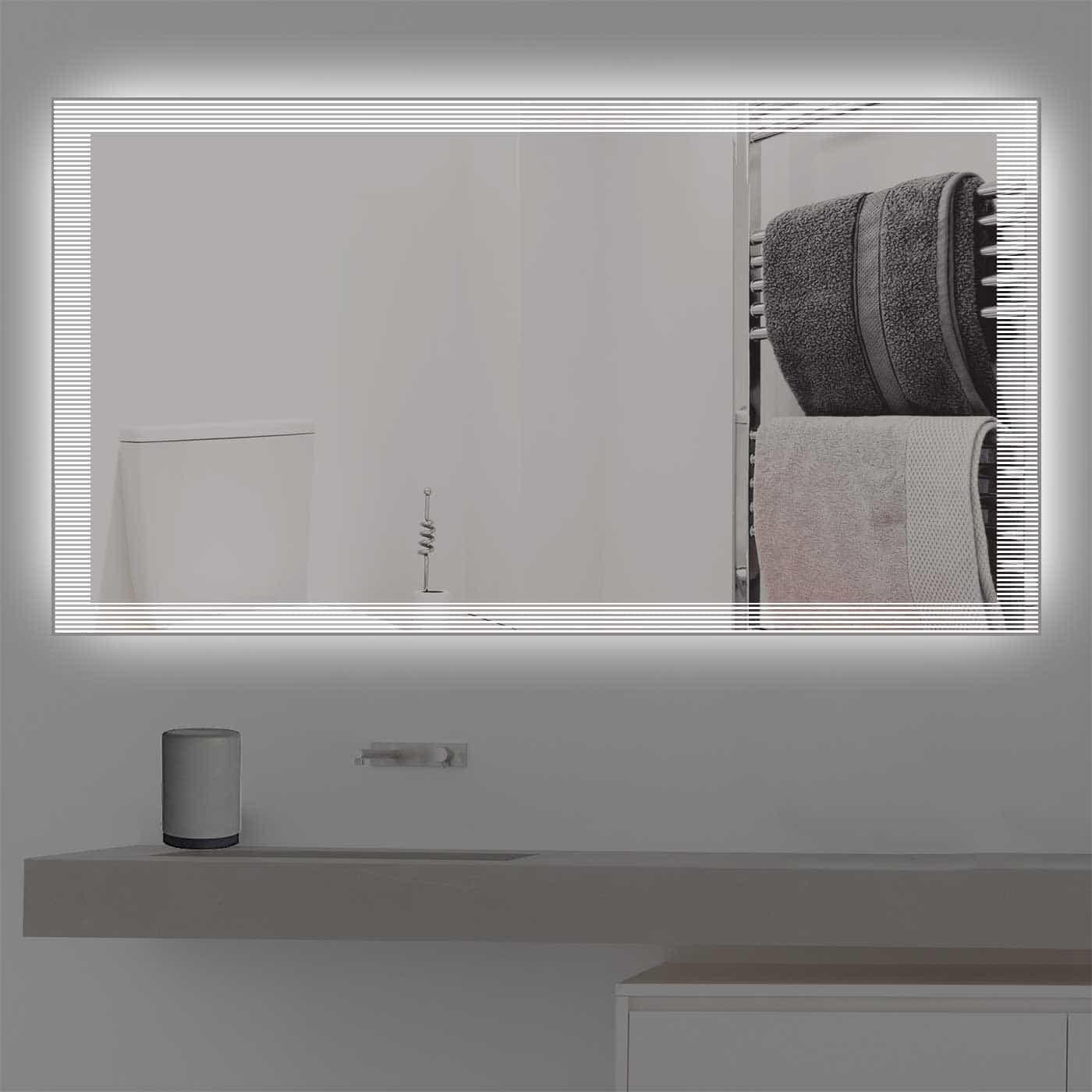 Design badezimmerspiegel led beleuchtet k 2017 for Spiegel 40 2017