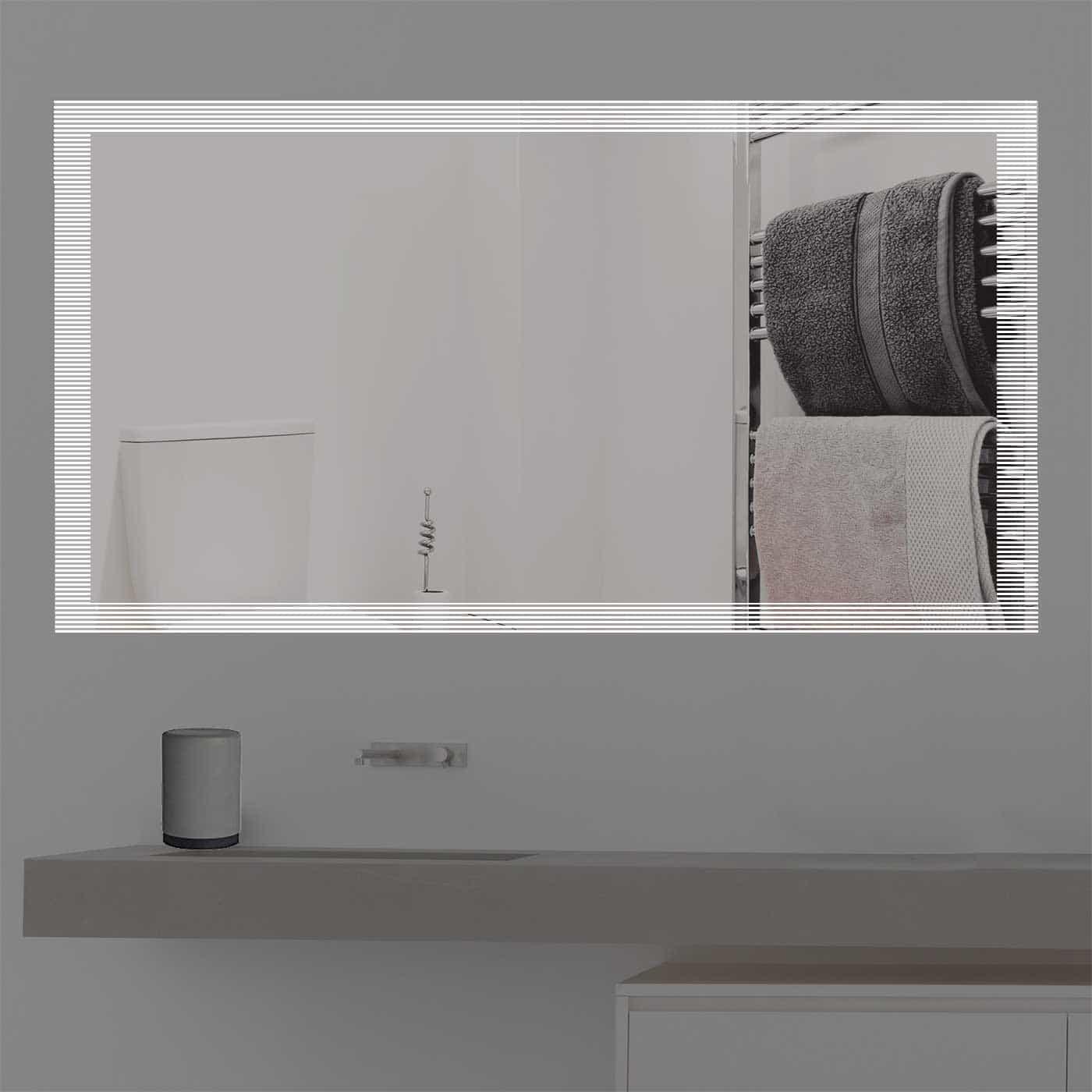 Design badezimmerspiegel led beleuchtet k 2017 for Spiegel 2017