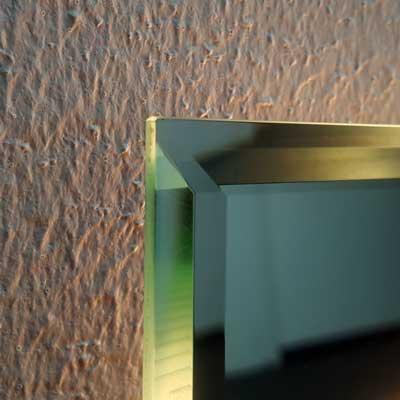 Spiegelkante mit Facettschliff - Spiegelking GmbH